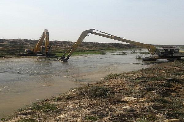 """صورة الري"""": تنفيذ أعمال صيانة المجاري المائية بالمحافظات"""
