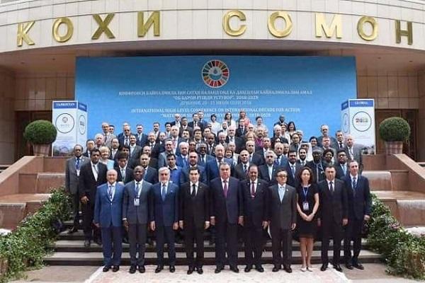 صورة وزير الرى من طاجكستان: التمويل يحول دون تحقيق التنميه المستدامه..صور
