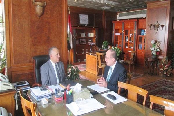 صورة وزير الري : توفير الراحة والأمان للحجاج اولويات عملى كرئيس لبعثة الحج