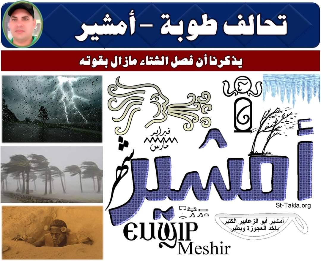 صورة الدكتور محمد فهيم يكتب : تحالف طوبة -أمشير .. مراسم التسليم والتسلم