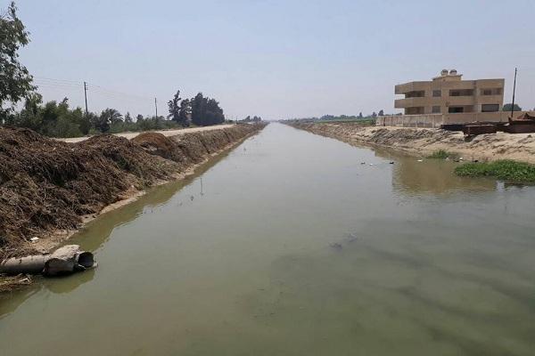 صورة الرى : تخفيض مناسيب المياه فى الترع الى اقصى درجه لاستيعاب مياه الأمطار