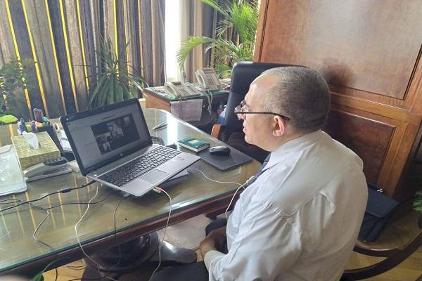 صورة وزير الرى : رفع حالة الاستنفار خلال إجازة عيد الفطر و نوبتجيات على مدار الساعة