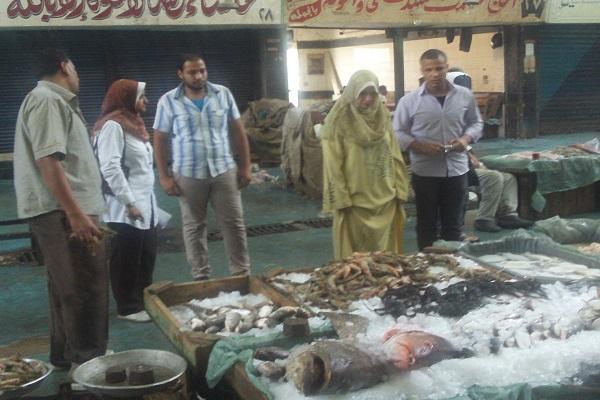 صورة أسعار الأسماك اليوم الجمعة 9 ابريل 2021 بسوق العبور