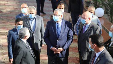 صورة وزير الزراعة يتفقد وحدات إنتاج معهد الامصال واللقاحات البيطرية.. صور
