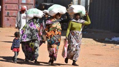 صورة مركز الملك سلمان للإ غاثة : توزيع سلال غذائية في السودان وكسوة الشتاء في الأردن..صور