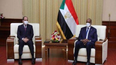 صورة من الخرطوم ..الرئيس السيسي يؤكد مساندة مصر لكافة جهود تعزيز السلام والاستقرار والتنمية في السودان