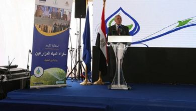 """صورة بالصور .. إحتفالية تكريم """"سفراء المياه"""" بحضور عبد العاطى ومحافظ القليوبية وسفير """"أوروبا"""""""