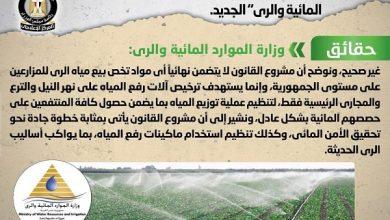 """صورة بيع مياه الري للمزارعين وفقاً لمشروع قانون """"الموارد المائية والري"""" الجديد .. شائعة"""