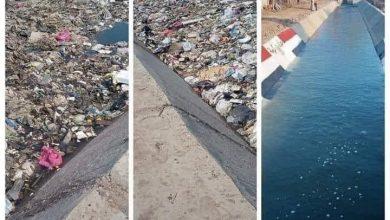 """صورة بالصور.. """"الرى"""" تناشد المواطنين الحفاظ على المجارى المائية من التلوث"""