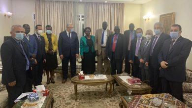 صورة بالصور.. وزير الزراعة يبحث في جوبا آفاق التعاون الزراعي بين مصر وجنوب السودان