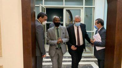 """صورة بالصور.. """"القصير"""" يستقبل وزير الثروة الحيوانية السوداني في مستهل زيارته للقاهرة"""