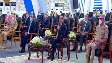 صورة الرئيس السيسى يدعو للتكاتف من أجل الحفاظ على الأراضى الزراعية